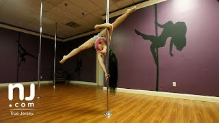 Pole dancing gaining popularity as a form of fitness