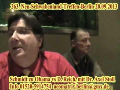 263. Neu-Schwabenland-Treffen Schmidt zu Obama versus Deutsches Reich 2v2