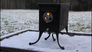 How to make an Ammo Can Tent Stove without Welding
