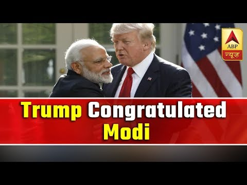 Donald Trump Rang PM Modi Up To Congratulate Him On Thumping Victory   ABP News