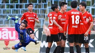 HIGHLIGHT |Thai League 4  :Bankunmae FC 0-2 SCG Muangthong United (B )