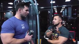 Тренировка с Романом Еремашвили
