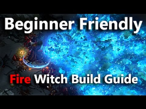 Path of Exile Beginner Friendly and Cheap Fire Witch Build Guide
