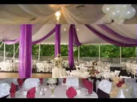 Easy Diy Wedding Reception Decorations Youtube