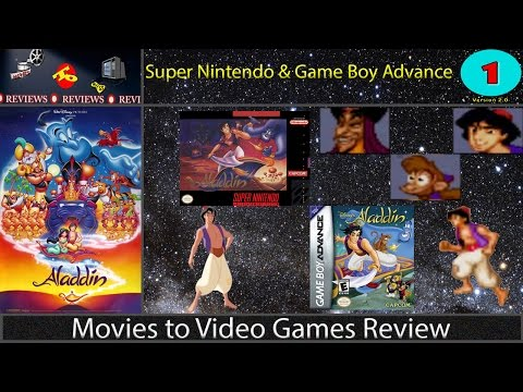 Movies to Video Games Review -- Aladdin (SNES & GBA) [Version 2.0]