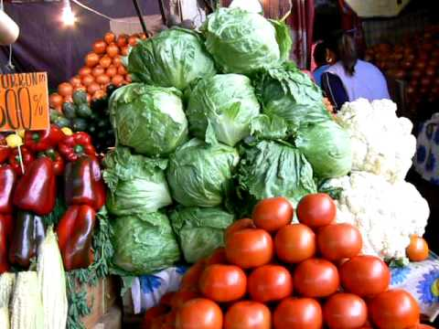 Produce market in Iquique Chile