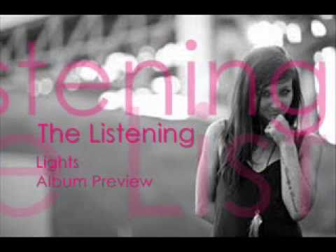 The Listening Album Preview by Lights