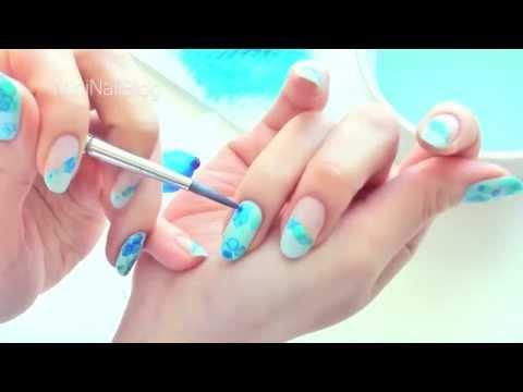 Nail Art Tutorial No.1 - Water Bubble Effect thumbnail