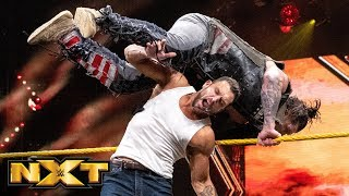 Fandango helps Tyler Breeze fight off The Forgotten Sons: WWE NXT, July 31, 2019