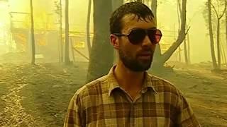 Dandenong Ranges Bushfire Footage