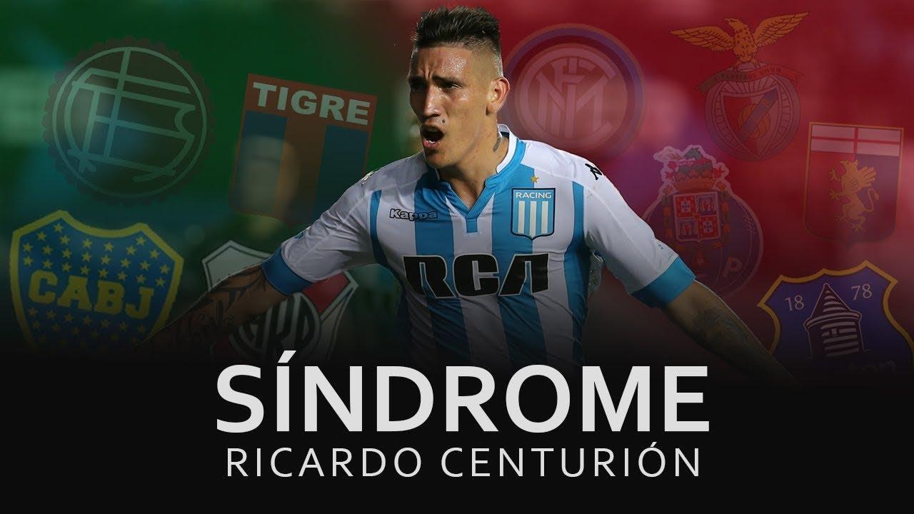 Ricardo Centurión: Sindrome: Ricardo Centurión.La Rompían En El Futbol