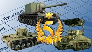 ТОП-5 лучших ПРЕМИУМ-танков — War Thunder