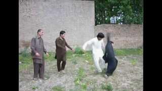pashto funny hangama-[ 9 ] funny fightin...
