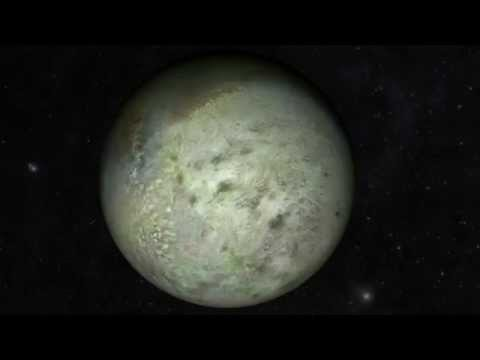 Voyager 2 at Neptune's Strange Moon Triton #NasaJPL