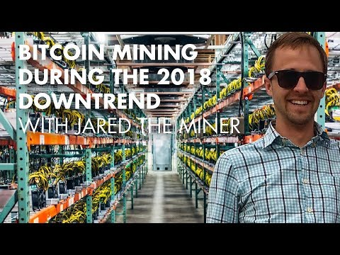 Bitcoin Mining During The 2018 Downtrend With Jared the Miner