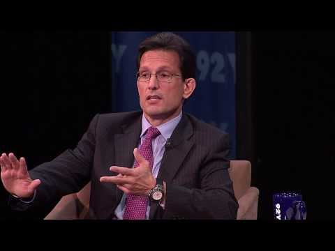 A Conversation with House Majority Leader Eric Cantor (FULL) | 92Y Talks