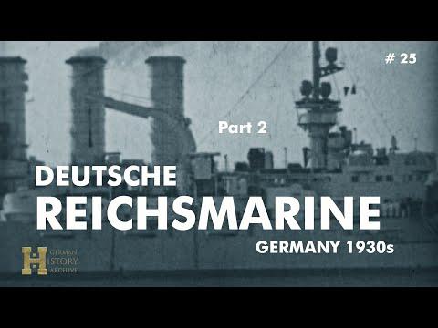 """Germany 1920s ▶ Deutsche Reichsmarine """"Unsere Blauen Jungs"""" (2) Battle Ship """"Emden"""""""