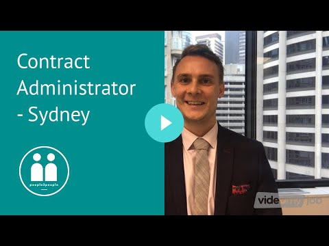 Contract Administrator - Sydney