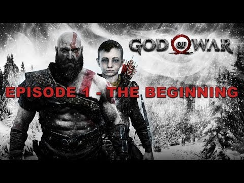 GOD OF WAR: KRATOS & ATREUS EPISODE 1 - THE BEGINNING | HipHopGamer