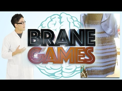 Brane Games: What Color is the Dress?
