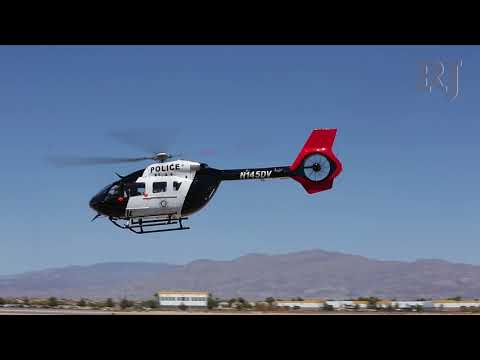 Las Vegas Metropolitan Police unveil new helicopter