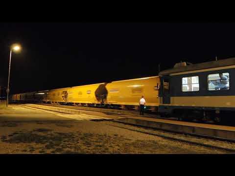 International corn train Hungary-Italy