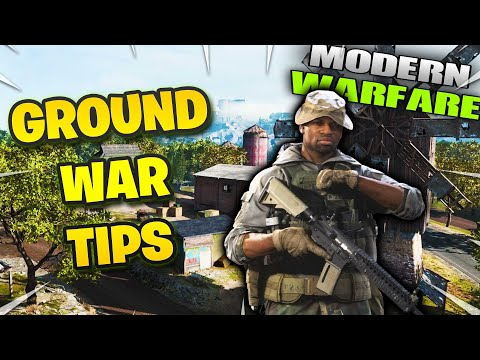 COD Modern Warfare Ground War tips - INSTANTLY IMPROVE with these 5 QUICK tips (PART 2)