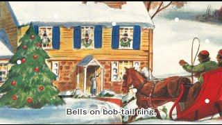 歌付きの英語クリスマスソング、Jingle Bells【ジングルベル】」のアニ...