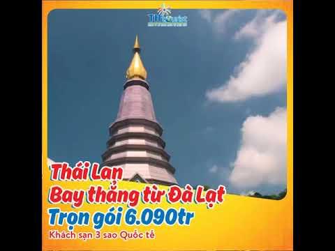 Du lịch Thái Lan – 5N4D – Bay thẳng từ Đà Lạt
