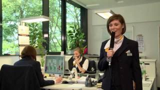 Azubis stellen ihre Ausbildung vor: Hotelfachmann/ -frau bei Lufthansa