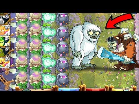 Plants vs Zombies 2 Battlez Mega Win - Yeti Imp vs Gargantuar in Battlez PVZ 2