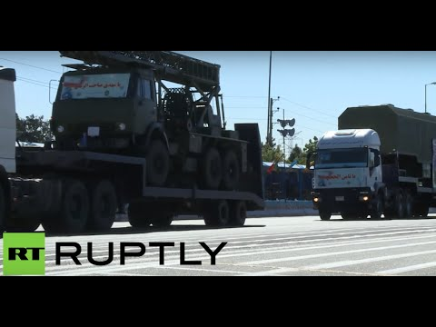 RAW: First time Iran shows Russian S-300 missile defense systems