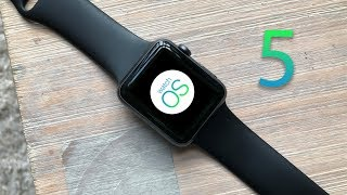 watchOS5 on the Series 1