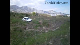 Τροχαίο ατύχημα στην Εθνική Οδό Ξάνθης - Καβάλας