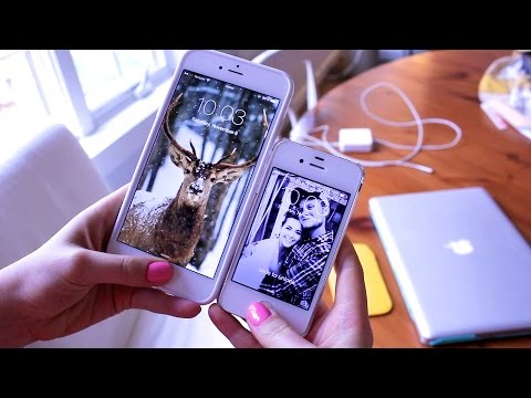 Womans iPhone 6 Plus Unboxing and First Impressions!