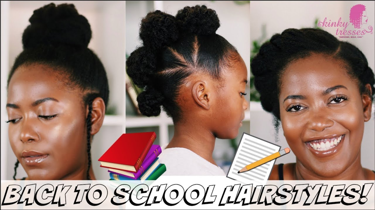 Back To School Hairstyles 2018 Natural Hairstyles For Medium
