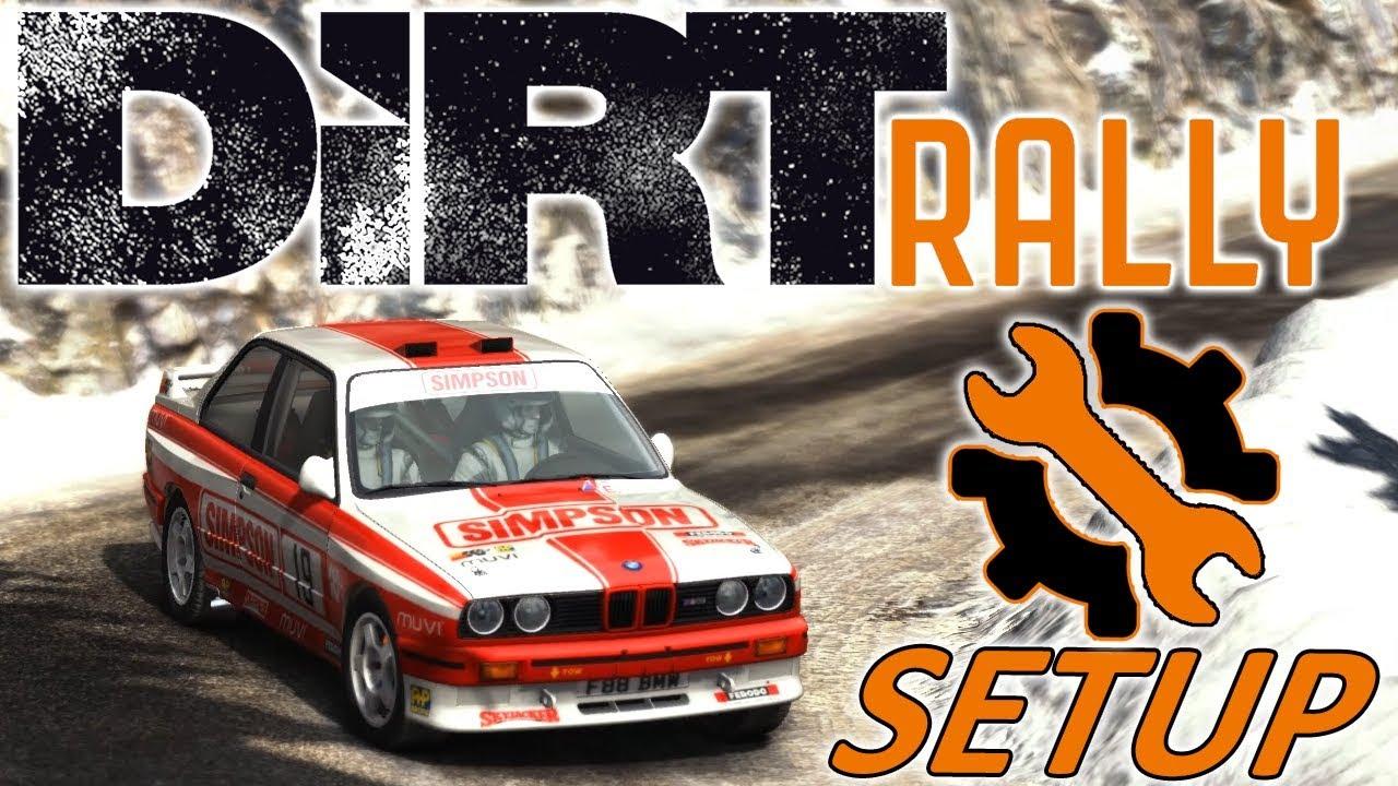 DiRT Rally | BMW M3 E30 Setup | Monaco Snow | Logitech G29 Wheel