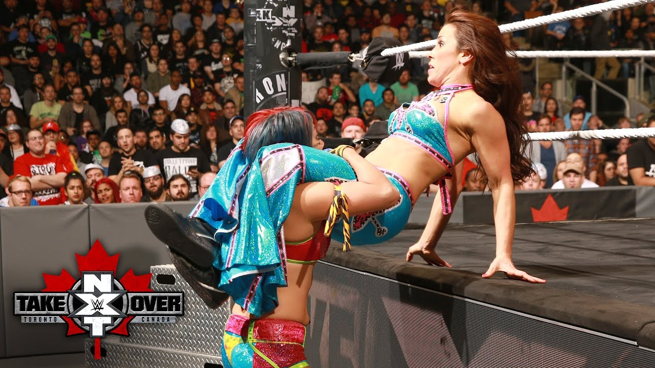 Image result for asuka vs mickie james