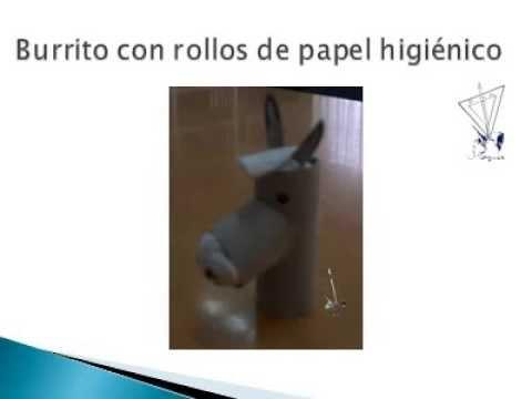 Manualidades burrito con rollos de papel higi nico youtube - Manualidades rollos de papel higienico ...