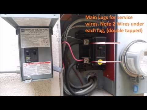 Double Tapped Lugs At Main Breaker In Peachtree City