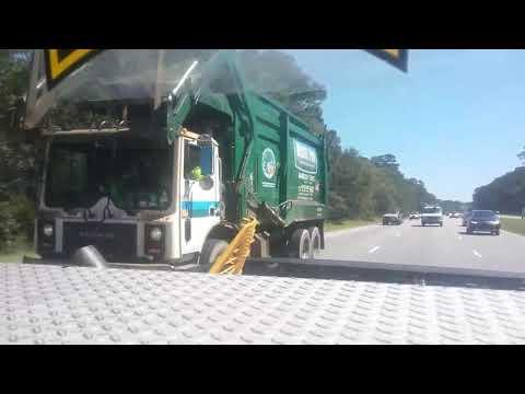 Waste Pro Mack MR690S Heil front loader