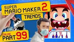 SUPER MARIO MAKER 2 ONLINE 👷 #99: Mario als Zahnarzt & Nintendo Sales Talk Q4 2019