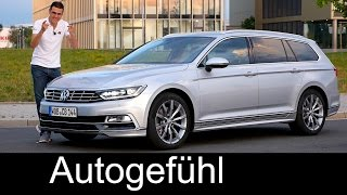 Family father's dream VW: Volkswagen Passat Variant R-Line FULL REVIEW test driven Estate B8 2017