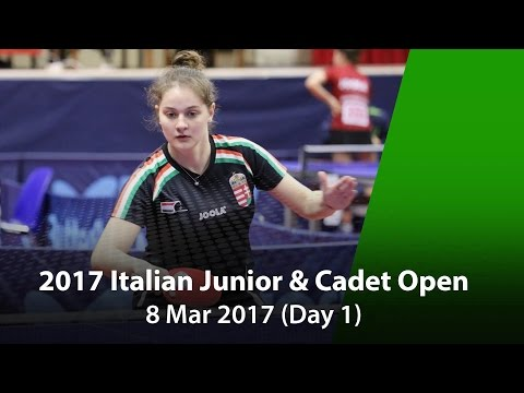 2017 ITTF Italian Junior & Cadet Open – Day 1