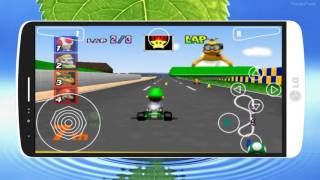 Descarga Mario Kart 64 Sin Emulador Para  Android // DIMENSION ANDROID