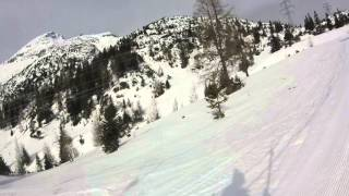 2-sl Almlift Biberwier & Almliftabfahrt bergab