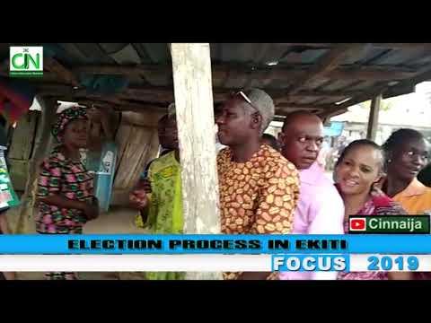VOTING PROCESS FROM EKITI STATE - #NIGERIADECIDES