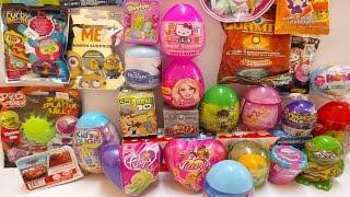 30 Sürpriz Yumurta Açma | Sürpriz Yumurta izle - Yeni Oyuncak ve Yumurtalar 6 Kinder Surprise Eggs