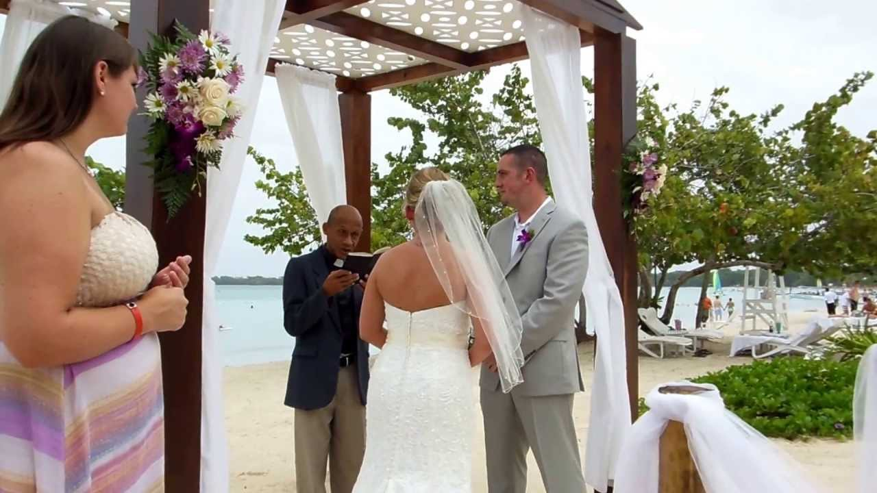 Daniel Jackson And Courtney Hall Wedding
