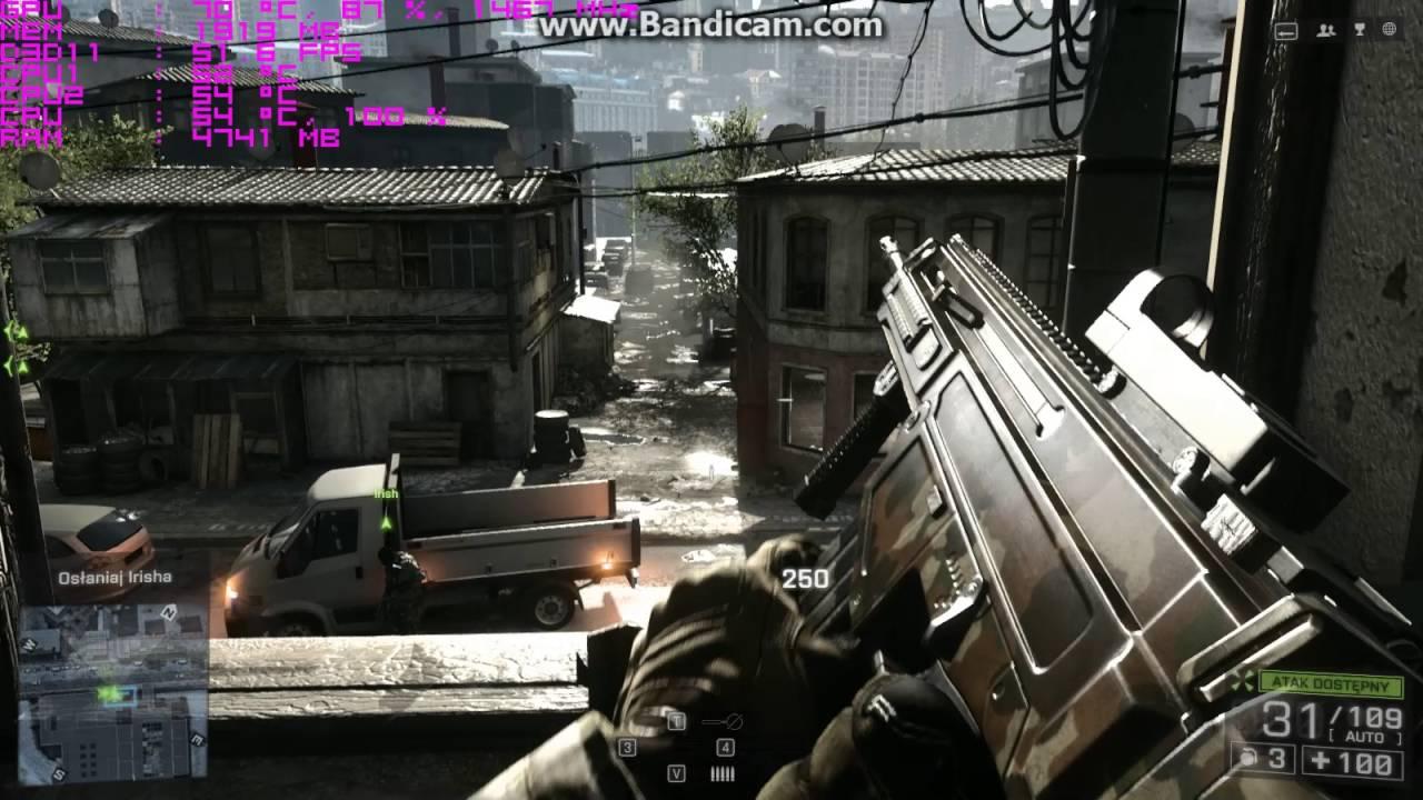 Battlefield 4 - Celeron G1610 - GTX 950 - 6GB RAM - YouTube